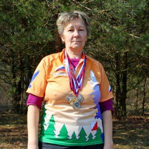 Смирнова Наталья Яковлевна Член клуба, 2 взрослый разряд